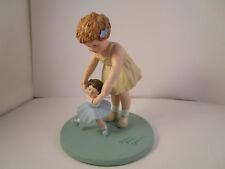 Vintage Danbury Mint Bessie Pease Gutmann First Step Figurine Figure 1993