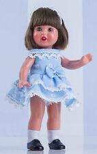 Mini Mariquita Pérez vestido volantes azul. (MM60102)
