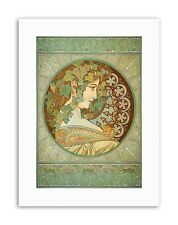 ALPHONSE MUCHA LAUREL 1901 Poster Painting Old Master Canvas art Prints
