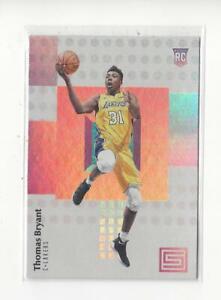 2017-18 Panini Status #105 Thomas Bryant RC Rookie Lakers Wizards