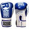 Ringside Apex Flash Hook and Loop Sparring Boxing Gloves - Blue