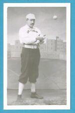 Dennis Big Dan Brouthers (Detroit) Vintage Baseball Bordered Postcard 02 GRN