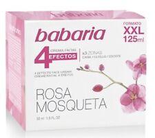 Babaria Rosa Mosqueta Facial Cream Xxl 4 Effects Face-Neck-Escote 4,25oz 125Ml