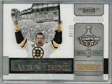 11/12 Panini Dominion Andrew Ference Engravatures #'ed 09/15