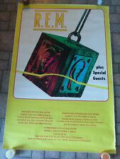 "Vintage R.E.M. Hammersmith Palais Ballroom Promo Uk Subway Concert Poster 40x60"""