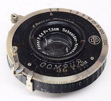 Schneider Xenar 75mm 4.5 + COMPUR DF