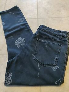 New Jackson Deconstructed Tapered Slim Fit Denim Jeans Grey