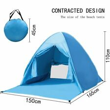 HG Hot 2-3 Persons Quick Automatic Pop up Instant Portable Camping Beach Tents