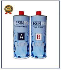 RESINA EPOSSIDICA TRASPARENTE KG 1,6  BICOMPONENTE A+B - DA RESINPRO