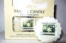 """Box Lot of 24 Yankee Candle """"SPARKLING SNOW"""" Festive Scented Tarts Wax Melts"""