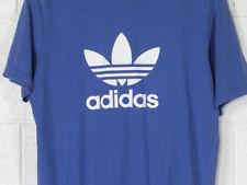 Adidas Originals Trefoil T-shirt Uomo Azzurra L Azzurro