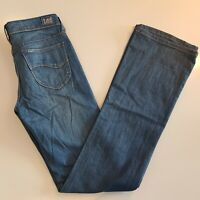 LEE Women's LO RYDER BOOTCUT STRETCH Jeans Size 10 Blue  -MC27