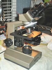 Olympus CHA PHASE Microscope,WF10X,4X BF,10X& 40X Phase,Turret Condenser,Halogen