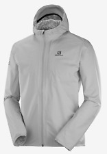 2020 Salomon Men's Bonatti WP Running Jacket Lunar Rock