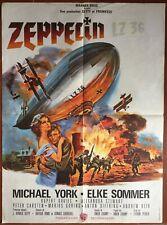 Plakat Zeppelin Elke Sommer Michael York Ballon Skibob 60x80cm