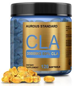 COLD PRESSED CLA 3000 Safflower Oil Weight Loss USA nonGMO Conjugated