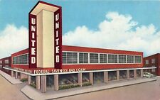 IA - 1950's United Federal Savings & Loan Bank at Des Moines, Iowa - Polk County