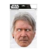 Han Solo Star Wars Single 2D Card Party Face Mask