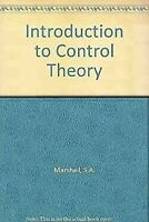 Introduction To Control Theory Tapa Dura S. A. Marshall