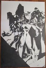 ORIGINAL Scarlet Witch Wolverine LIMA Sexy X-Men PinUp Sentinel The Avengers war