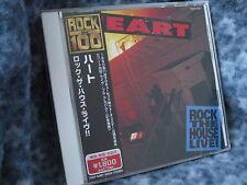 "HEART ""BRIGADE BACKSTAGE"" RARE IMPORT JAPAN CD RHTF WITH OBI"
