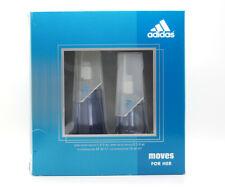 Adidas Moves for Her Gift Set Women (1.0 fl oz EDT Spray 0.5 fl oz EDT Spray)