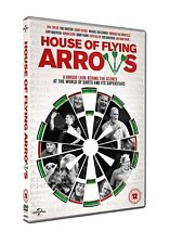 House Of Flying Arrows Darts DVD Phil Taylor, Bobby George, Eric Bristow - NEW