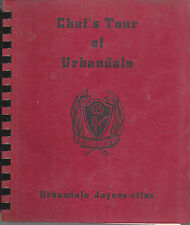 URBANDALE IA 1973 VINTAGE *CHEF'S TOUR COOK BOOK JAYCEES AUXILIARY *IOWA RECIPES
