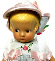 Vintage Effanbee Doll August Girl 1988 Patsyette 9605 New York