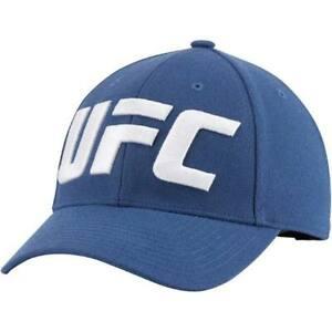 Reebok UFC Bunker Blue Baseball Cap New
