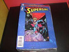 Super Girl #1 Futures End Lenticular Cover (3D) DC Comic Book Near Mint / CRISP