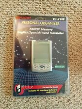 Sharp Yo-290P Personal Organizer - Phone, Language Translator, Calendar, Memo