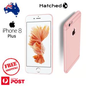 iPhone 8 - Anti Slip Matte TPU Hybrid Case Cover Pink Rose Gold