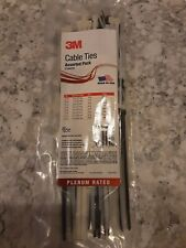 3m Cable Ties Assortment 100 To A Bag