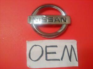 ✅OEM NISSAN GRILLE EMBLEM 62890EM30A GRILL BADGE FACTORY LOGO 62890-EM30A NICE!