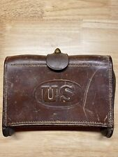 New listing Antique 1904 Rock Island Arsenal Shell Holder Leather