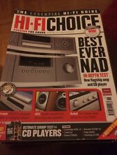 HI-FI Choice CD Amp Speakers Sub Music Cables Etc Issue No 285 October 2006