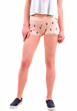 Wildfox Women's Authentic French Press Sleep Short Peach Keen XS RRP £48 BCF77