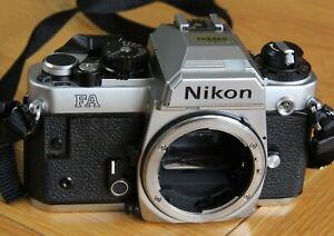 NIKON FA 35mm SLR Film Camera Body and Case – OUTSTANDING