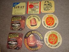 Beer drinks mats drip mats coaster HENRI WINTERMANS dutch cigars HAMLET jo lot