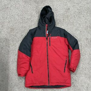 Columbia Jacket Red Kid Boys Youth Size 18 20 XL