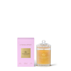 A Tahaa Affair 60g Triple Scented Candle Glasshouse Fragrances