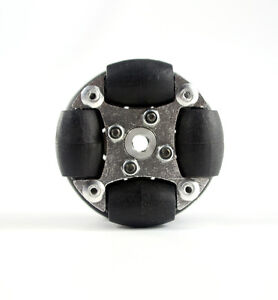 "1.5 inch 1.5"" 38mm 90° Aluminum Alloy Omni Wheel With Hub For DIY Arduino Robot"
