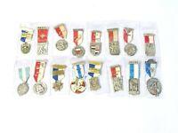 16 x 1950-60s Swiss European German Rifles Gun Shooting Medals LOT #S1