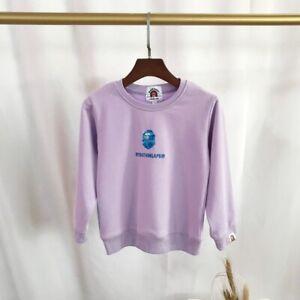 2022 New Kids Boy Girl Embroidery Animal Cartoon Pullover Sweatershirt Hoodies