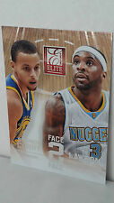 2013-14 Elite Face 2 Face #7 STEPHEN CURRY - TY LAWSON (Warriors / Nuggets)