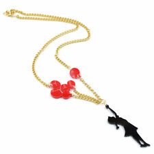 Sweet Girl Balloon Pendant Chain Necklace Jewellery Cool Design Fashion New