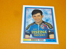 N°277 R. TORRES FESTINA MERLIN GIRO D'ITALIA CICLISMO 1995 CYCLISME PANINI TOUR