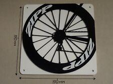 ZIPP Cycling Wheel, ZIPP rear wheel design - Acrylic Sign: 190x190mm