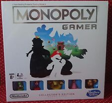 Monopoly Gamer Collector's Edition Super Mario Nintendo Hasbro ONLY